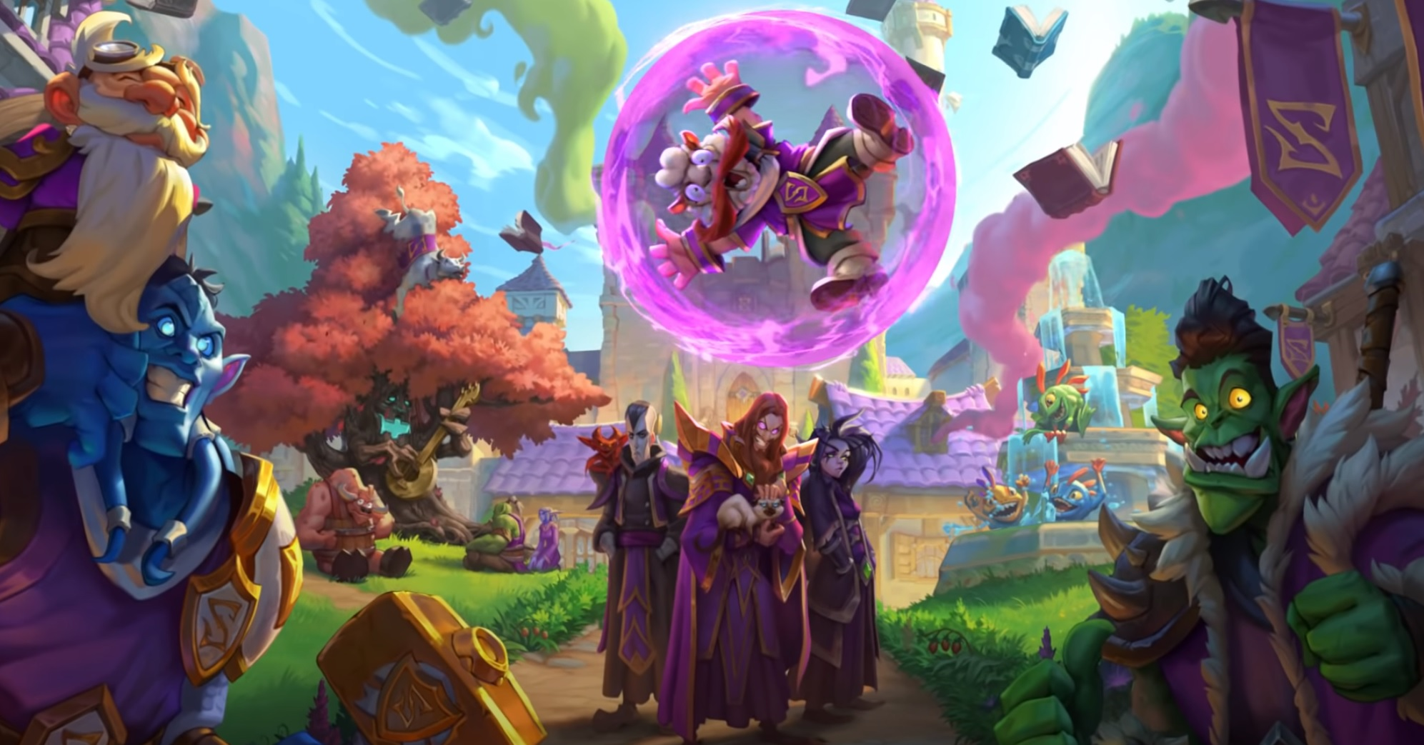 The next Hearthstone expansion is going back to school just like Rodney did screenshot