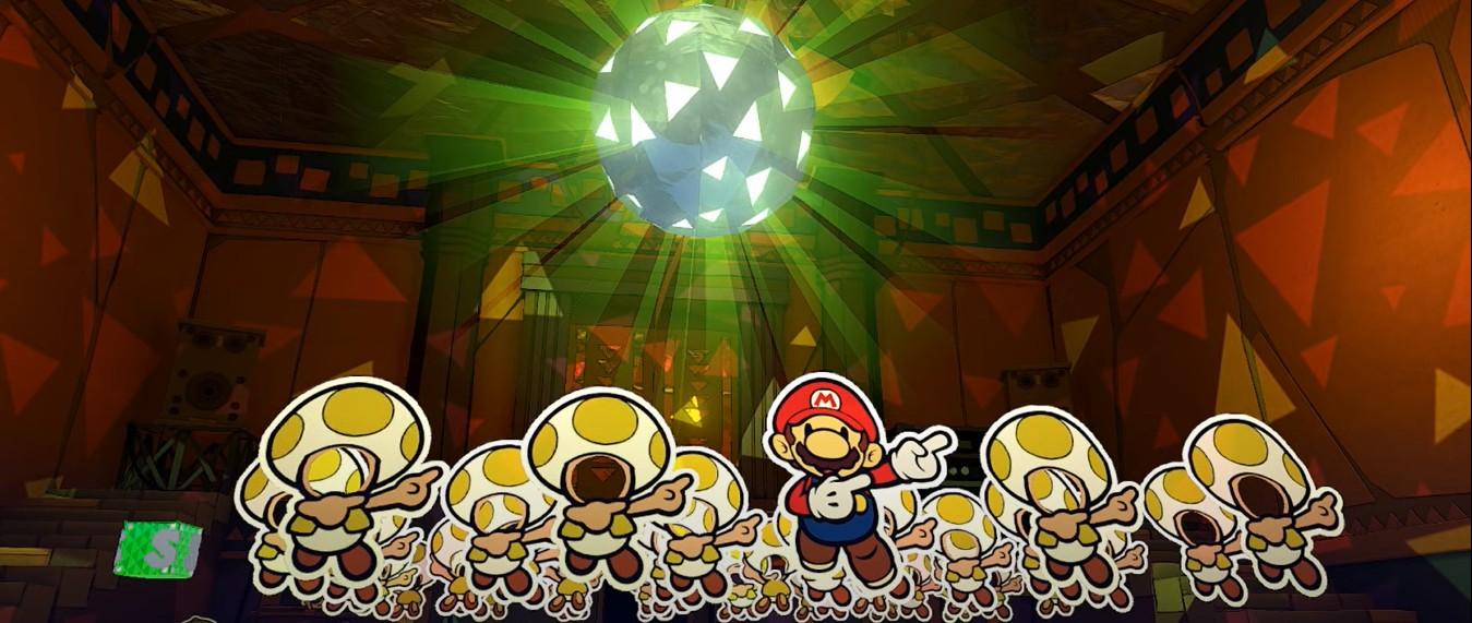 Nintendo Download: Paper Mario: The Origami King screenshot