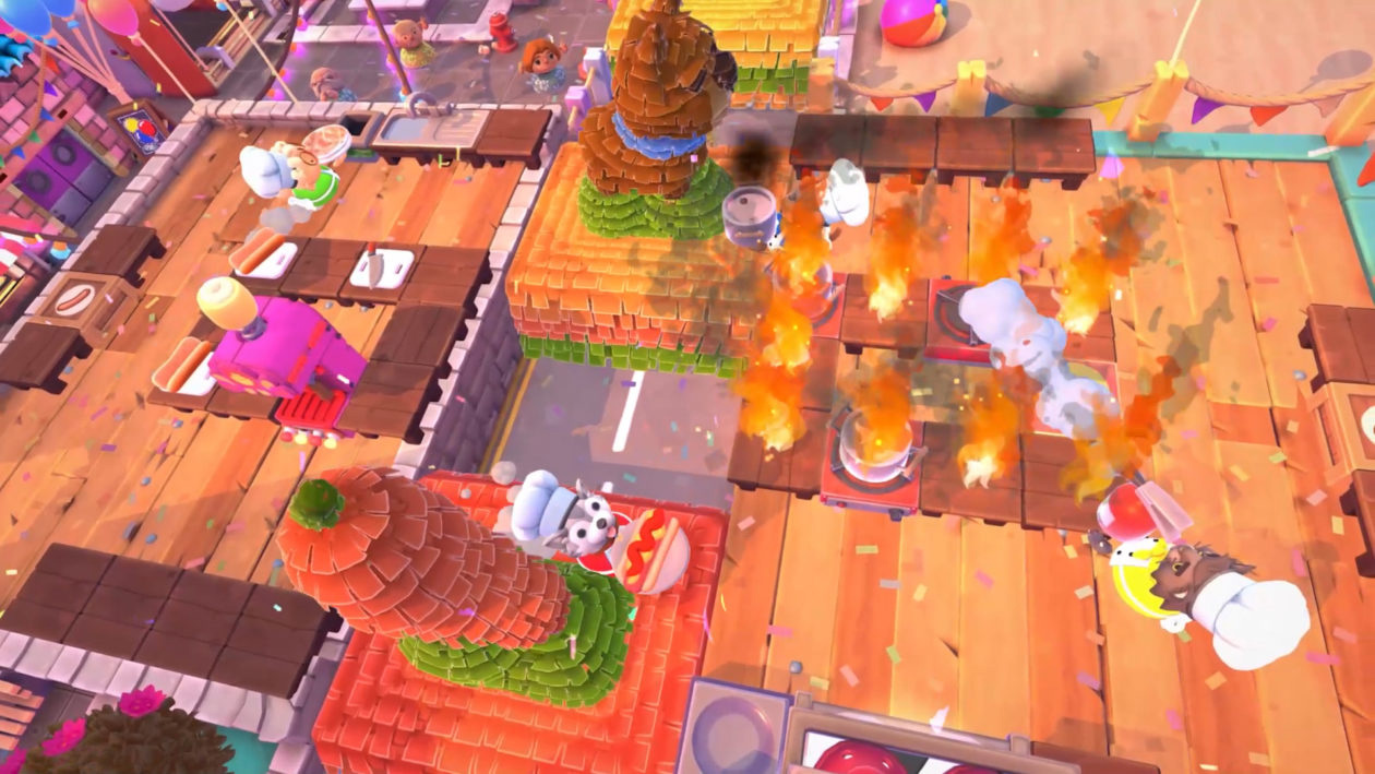 Overcooked 2 is back on the menu with five free Sun's Out Buns Out levels screenshot