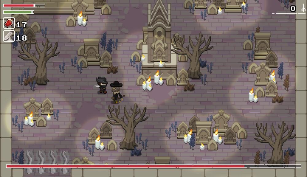 Bloodborne meets Zelda in Yarntown, a short playable top-down adventure screenshot