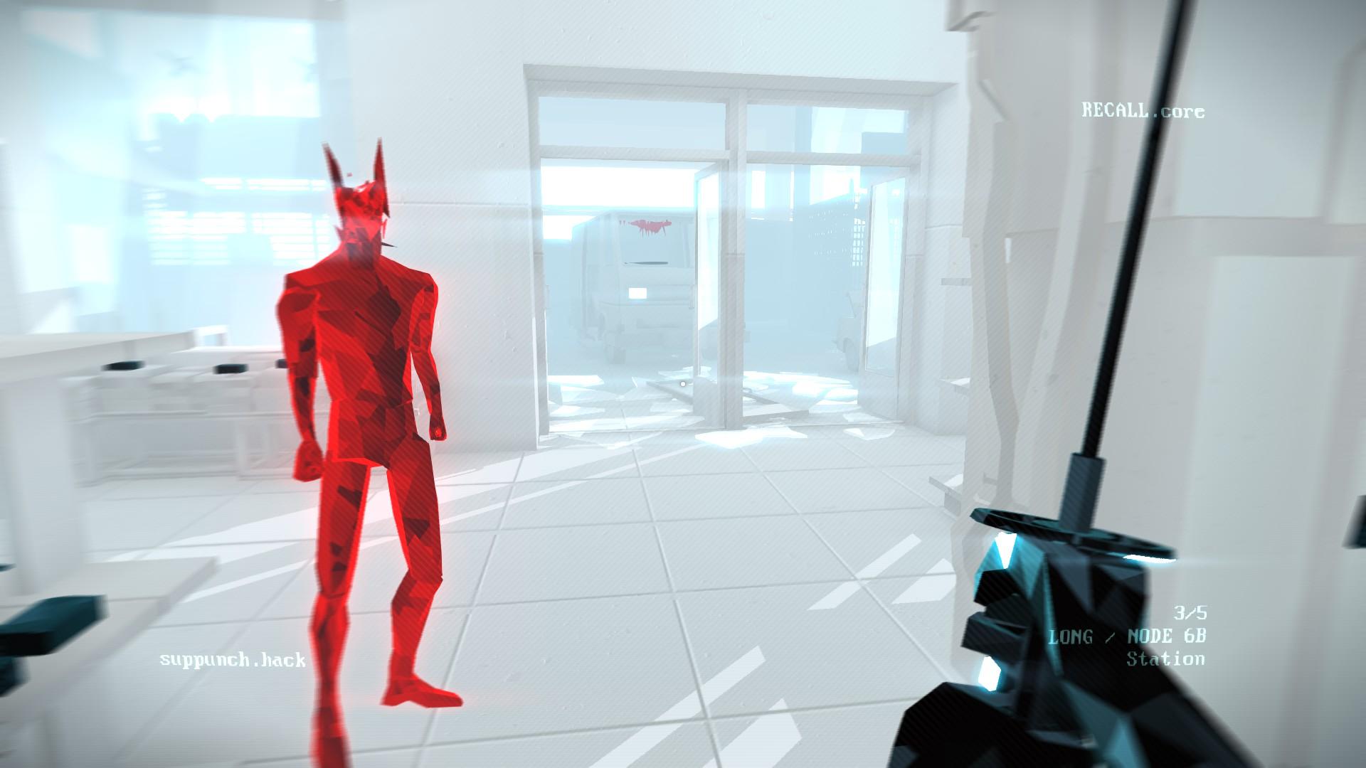 Review: Superhot: Mind Control Delete screenshot