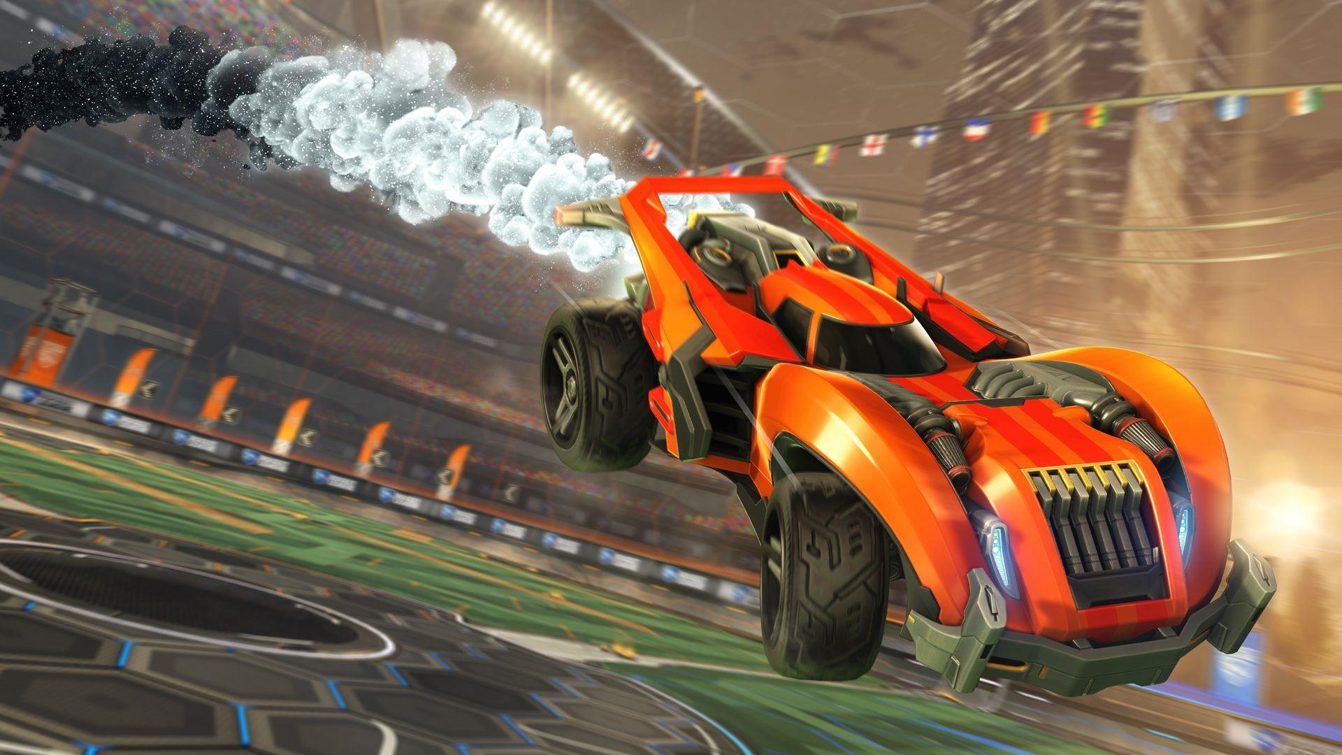 Rocket League is going free-to-play, getting cross-platform account merging screenshot