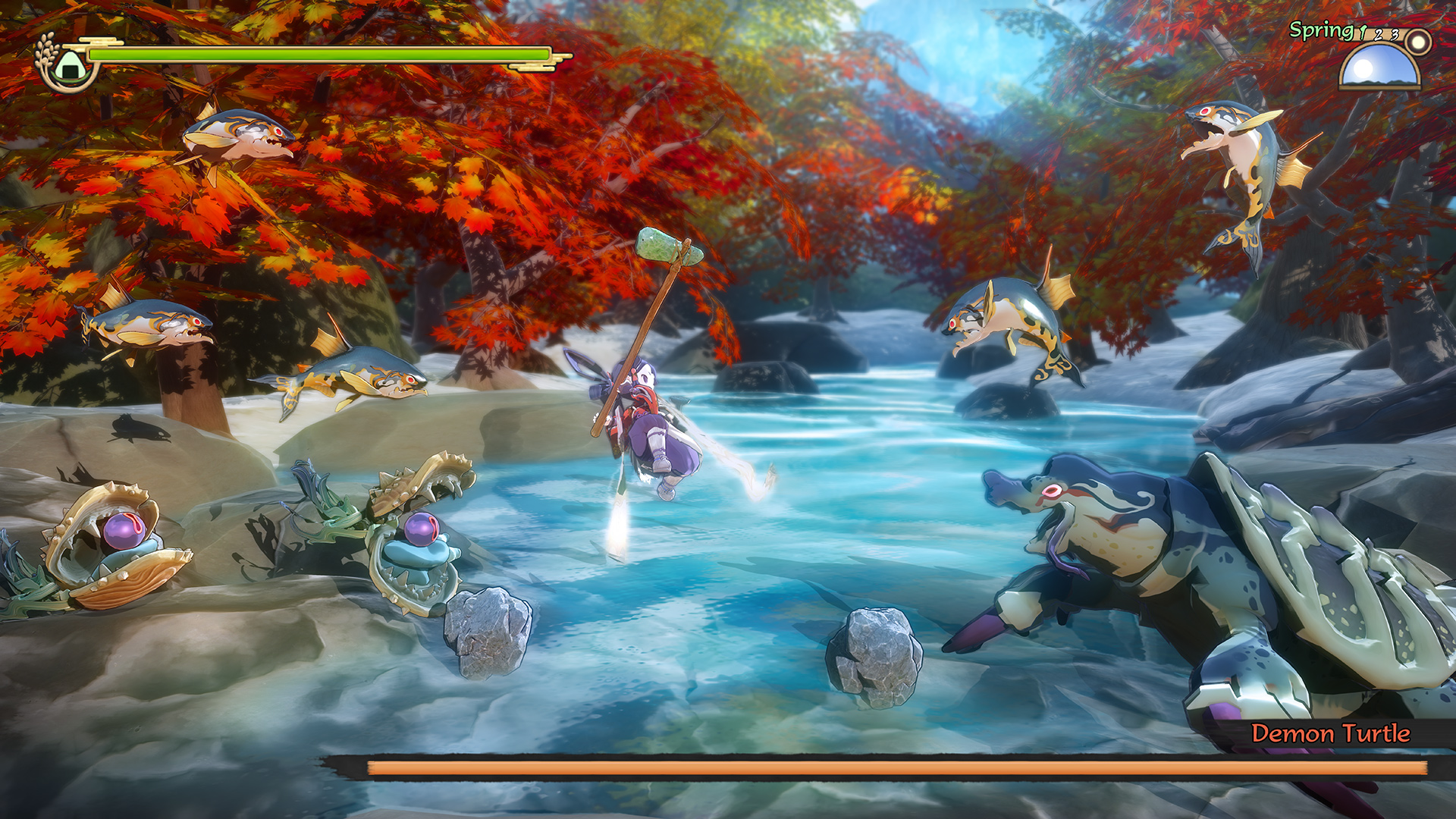 Sakuna: Of Rice and Ruin has a slick new trailer and a release date screenshot