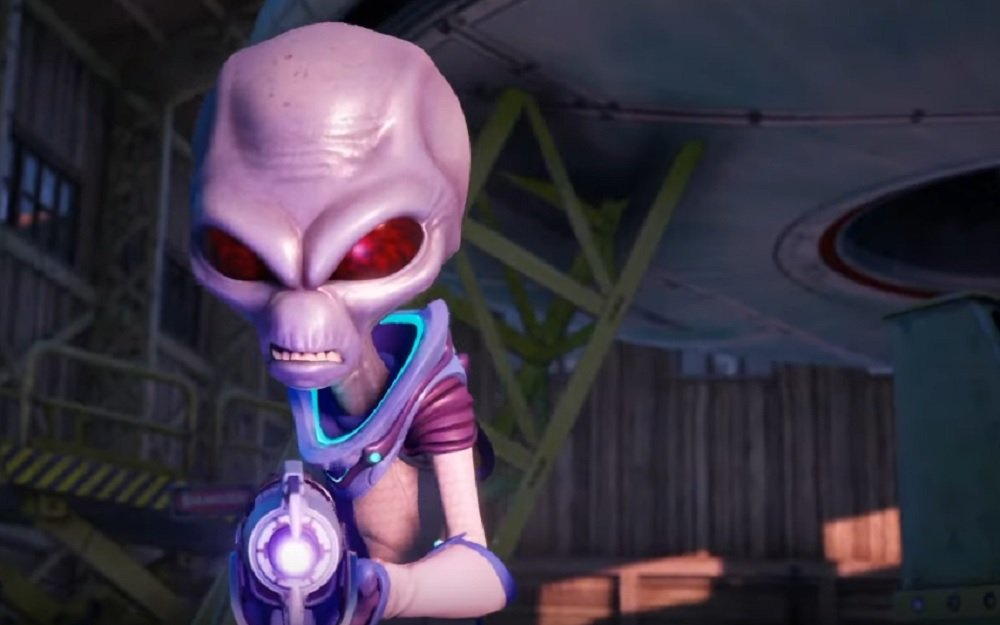 Destroy All Humans! reveals its restored 'Lost Mission' screenshot