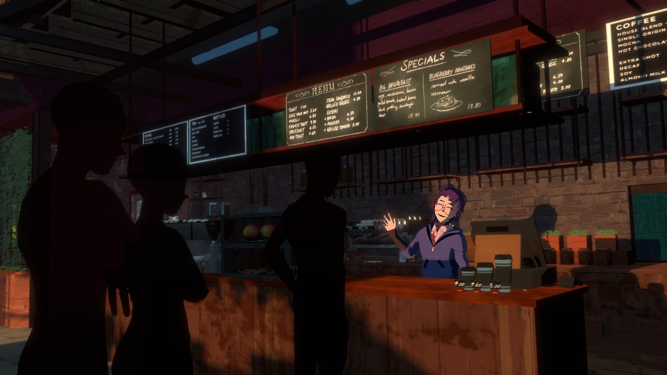 Review: Necrobarista screenshot