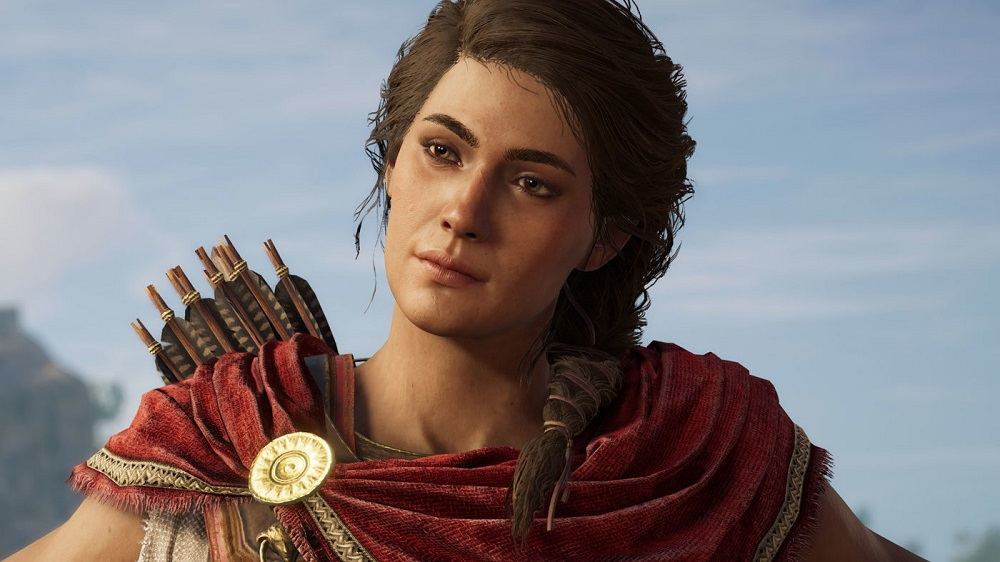 assassins creed odyssey kassandra voice actor