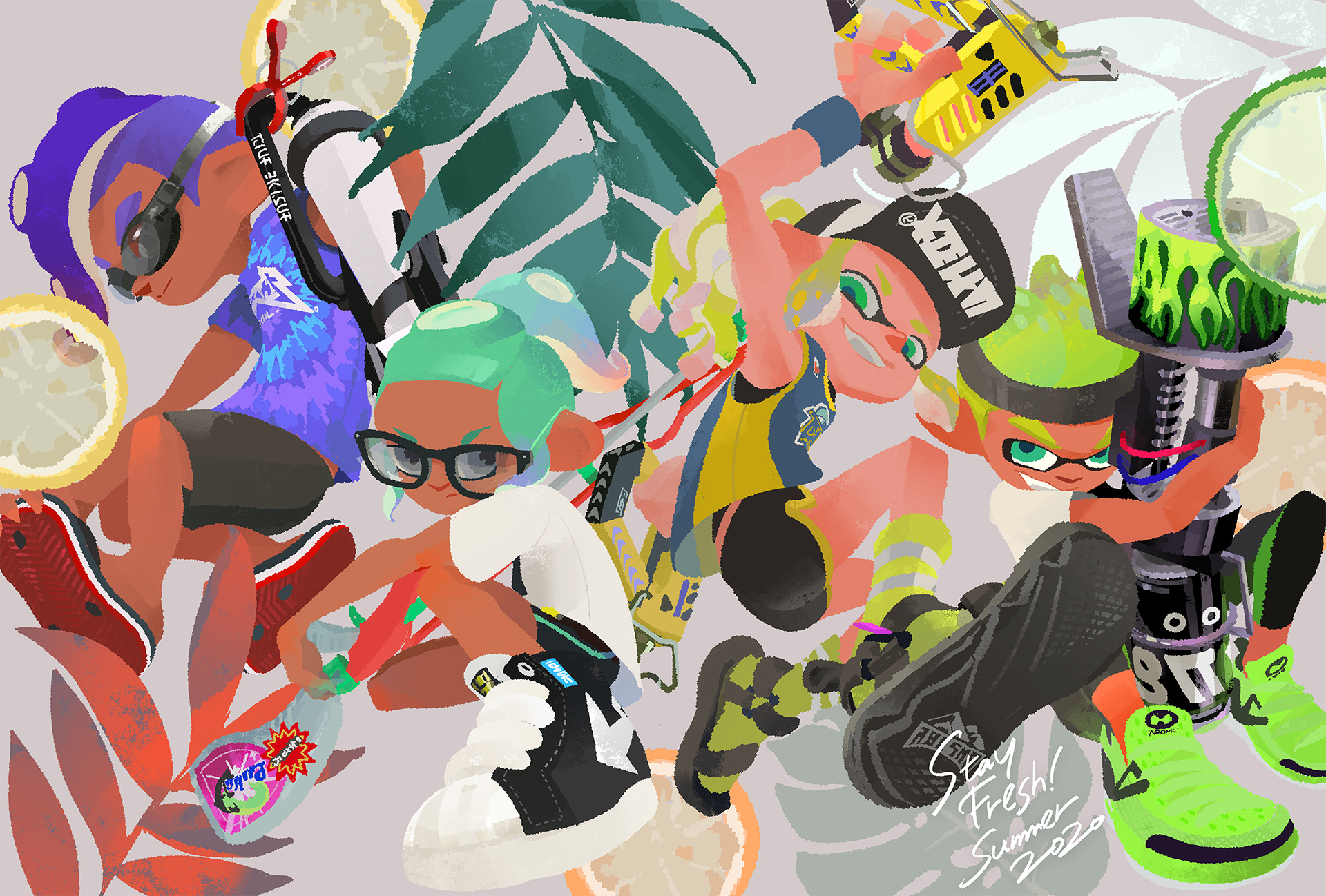 Splatoon 2 players have to duke it out in three more Splatfests screenshot