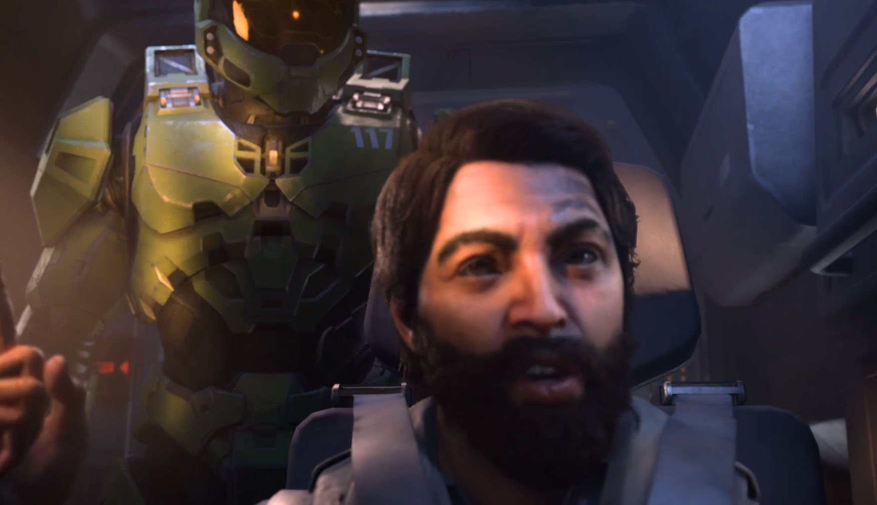 Here's our first real look at Halo Infinite screenshot