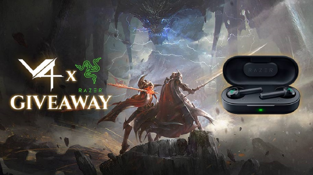 Contest: Win a set of Razer Hammerhead True Wireless Earbuds, courtesy of action MMO V4 screenshot