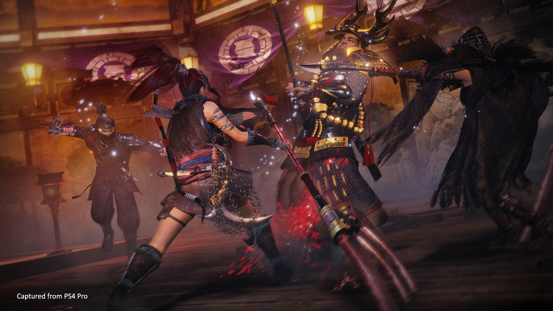 Nioh 2's first DLC is days away, so here's a look at the new Splitstaff weapon screenshot