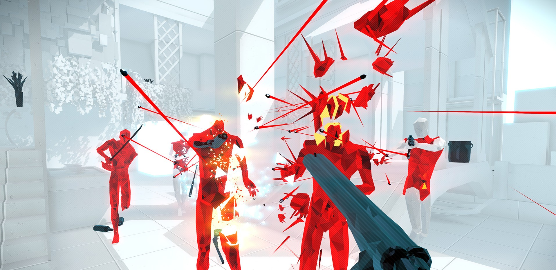 Superhot: Mind Control Delete's controversial ending has been patched screenshot
