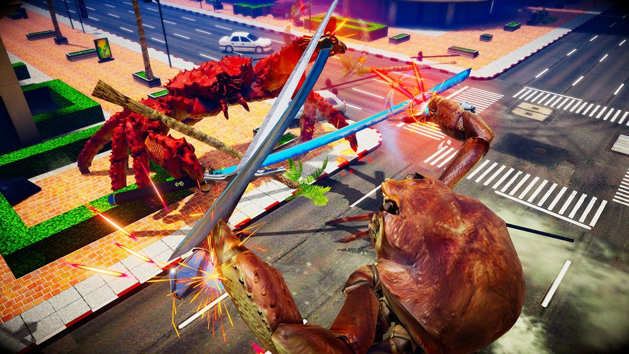 Fight Crab, a brawler featuring armed crabs, is both stupid and amazing screenshot