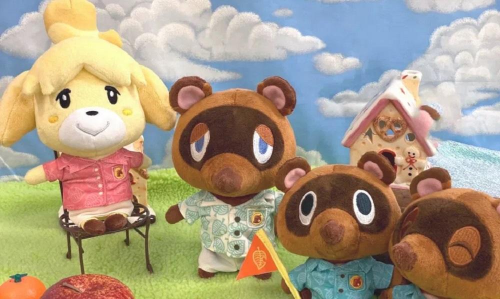 Animal Crossing New Horizons Shizue Isabelle Keychain Stuffed Doll Plush Toys