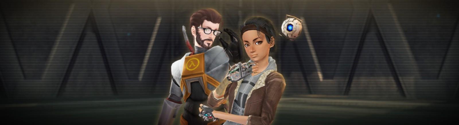 Phantasy Star Online 2's Steam launch is offering Half-Life bonuses screenshot