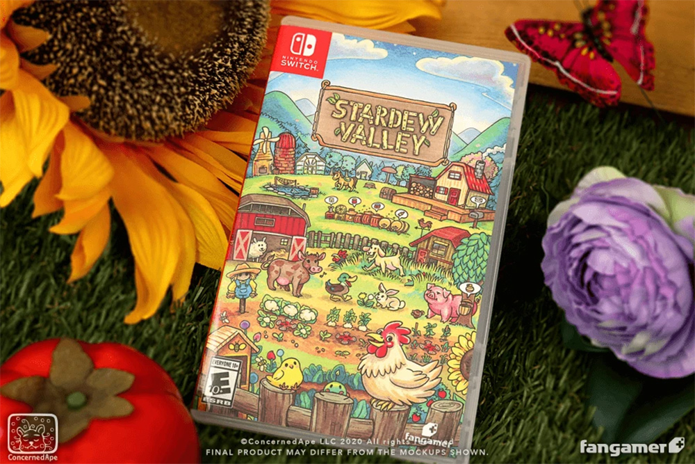 Stardew Valley is taking pre-orders for a Nintendo Switch and PC physical edition screenshot