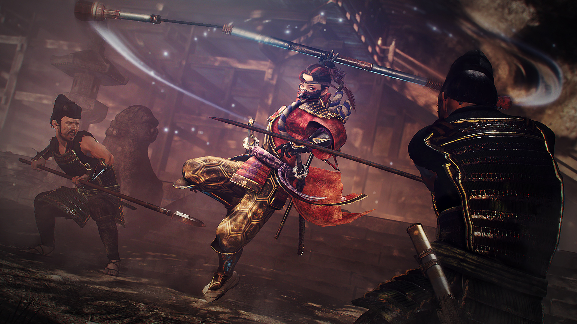 Nioh 2: The Tengu's Disciple is out today along with a free update screenshot