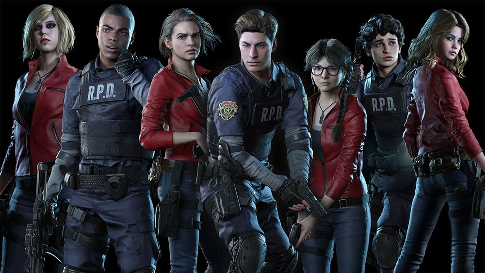Leon and Claire are back in Resident Evil Resistance...in cosmetic outfit form screenshot