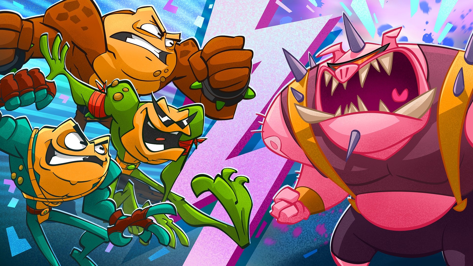 Maybe this release date trailer will sell you on Battletoads screenshot