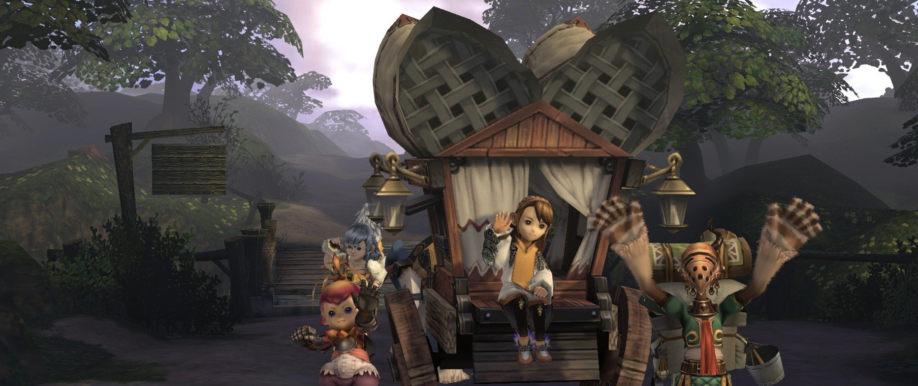 Square Enix tells us why the Final Fantasy Crystal Chronicles remaster doesn't have local co-op, and a lot more screenshot