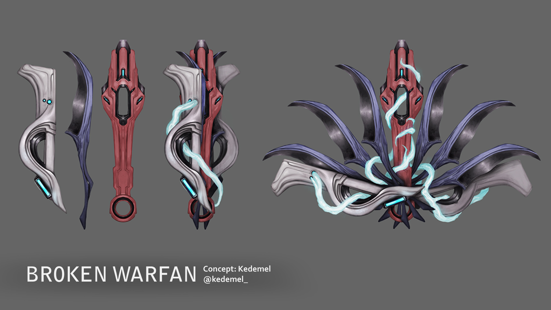 Warframe Broken Warfan