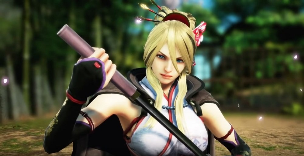 The deadly Setsuka to return in Soulcalibur VI next week screenshot