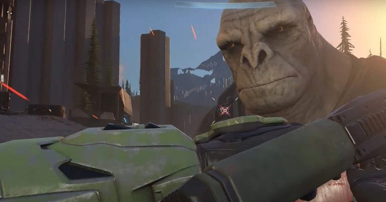 343 acknowledges Halo Infinite's visual concerns, while Phil Spencer has fun with it screenshot