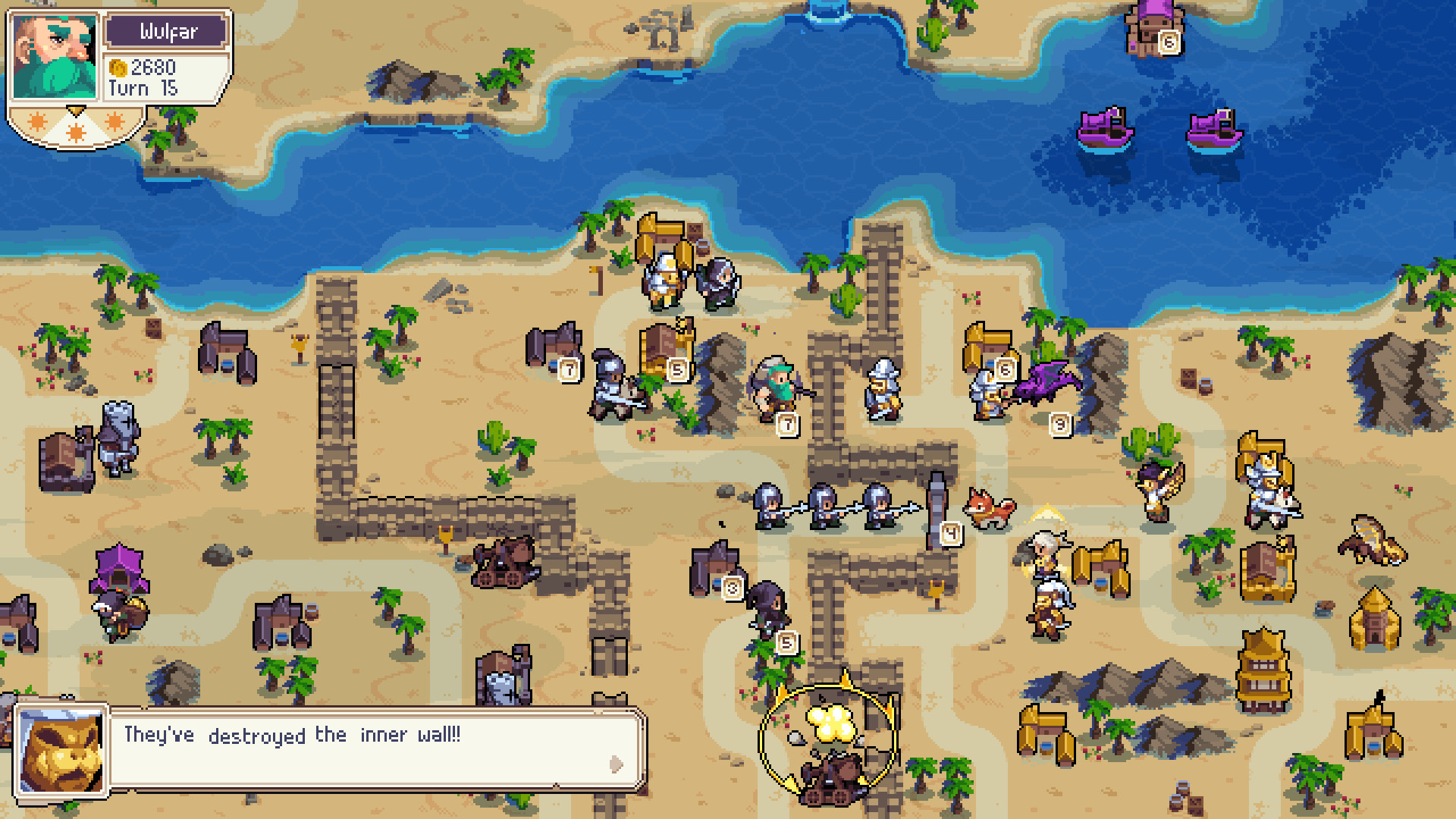 Wargroove will get cross-play on PS4 after a year long public battle with Sony screenshot