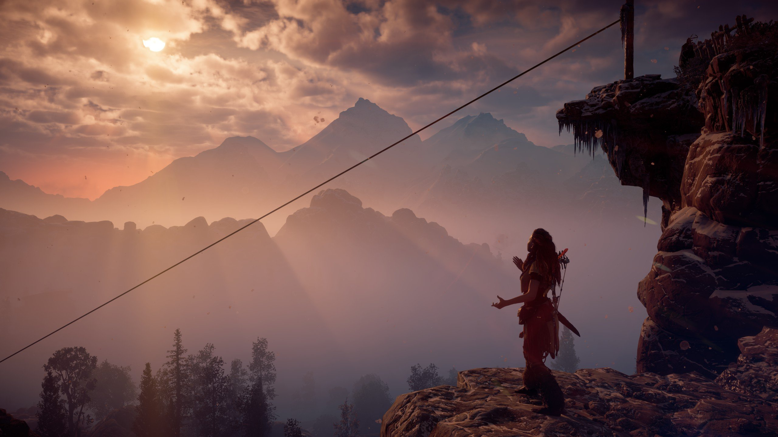Horizon Zero Dawn is just as stunning and flawed on PC screenshot