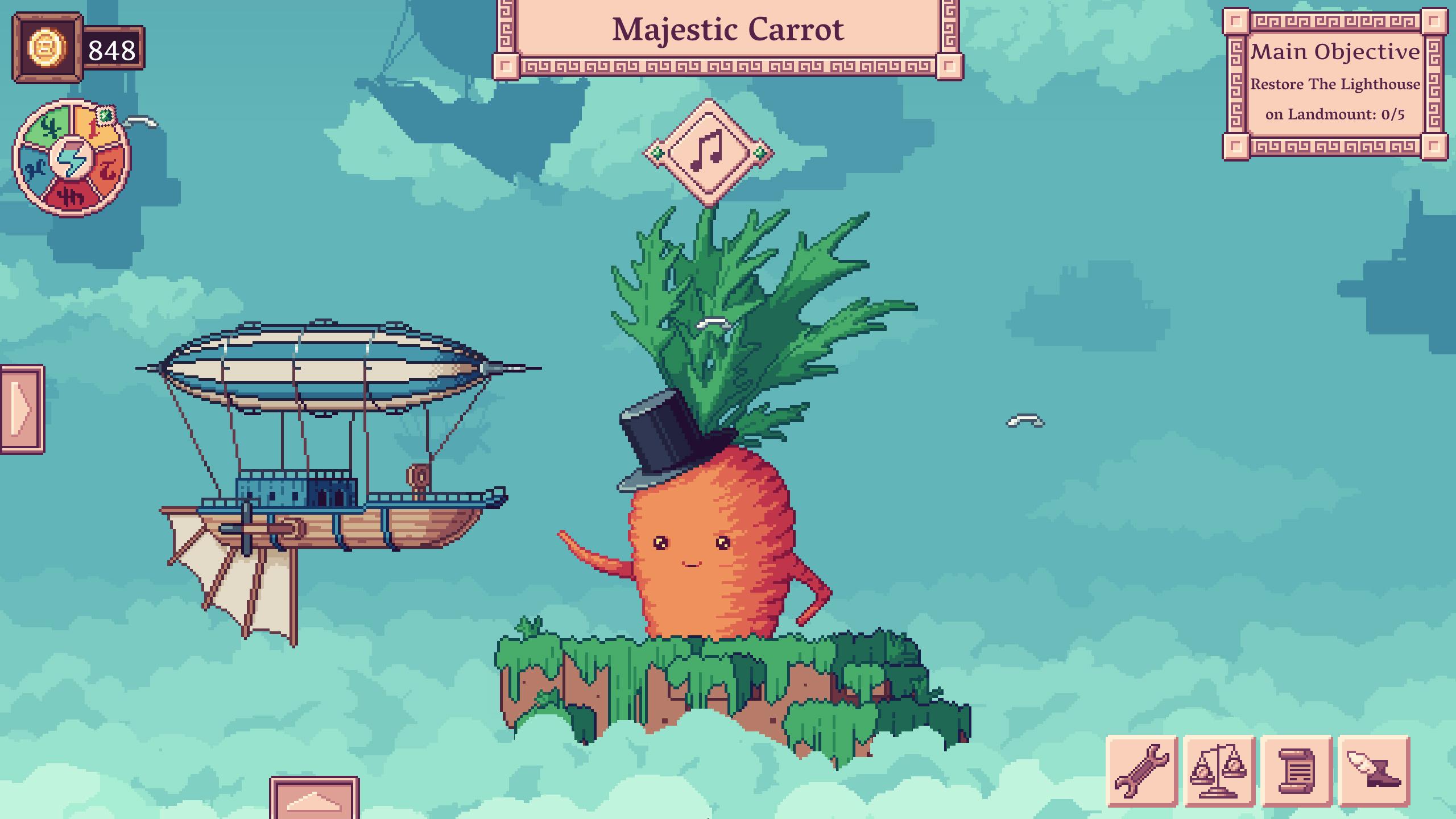 Review: Merchant of the Skies screenshot