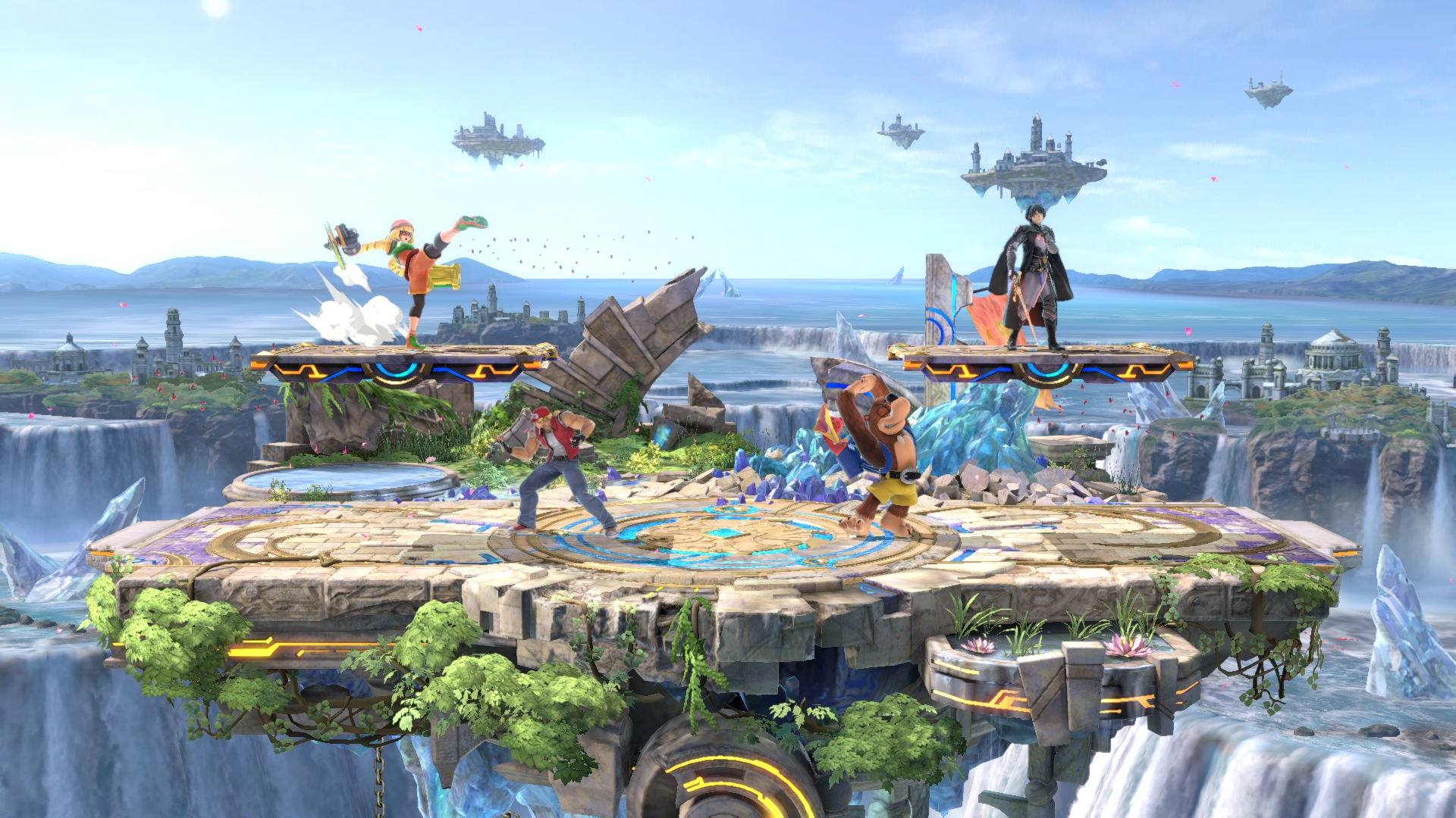 The latest Smash Ultimate patch comes with a new modified stage screenshot