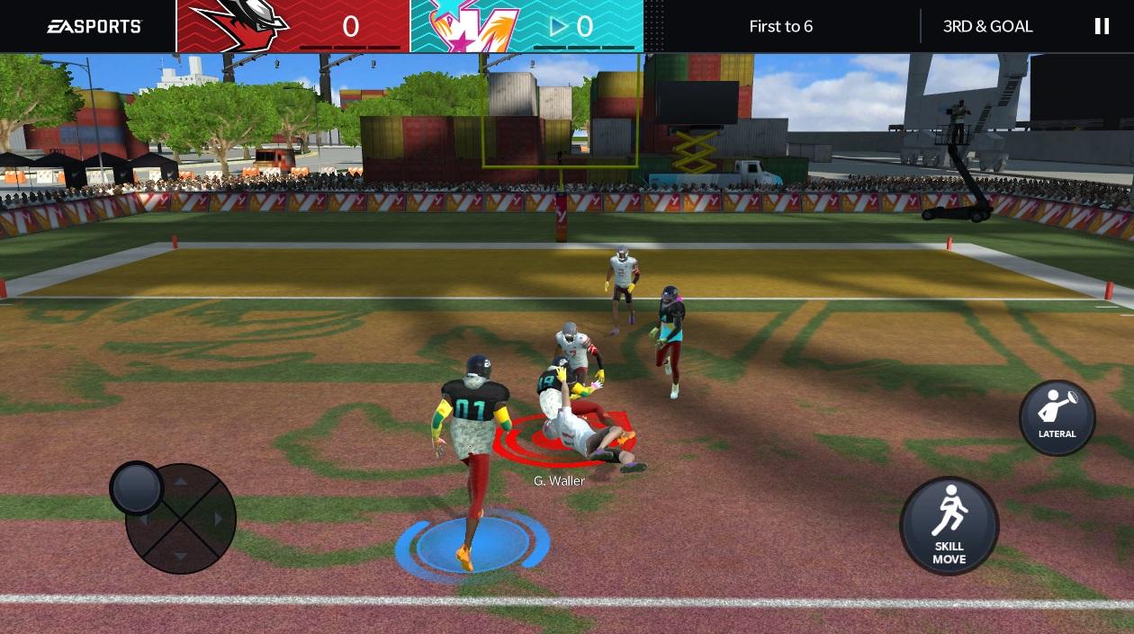 Madden 21 gets a new mode that's like NFL Street screenshot