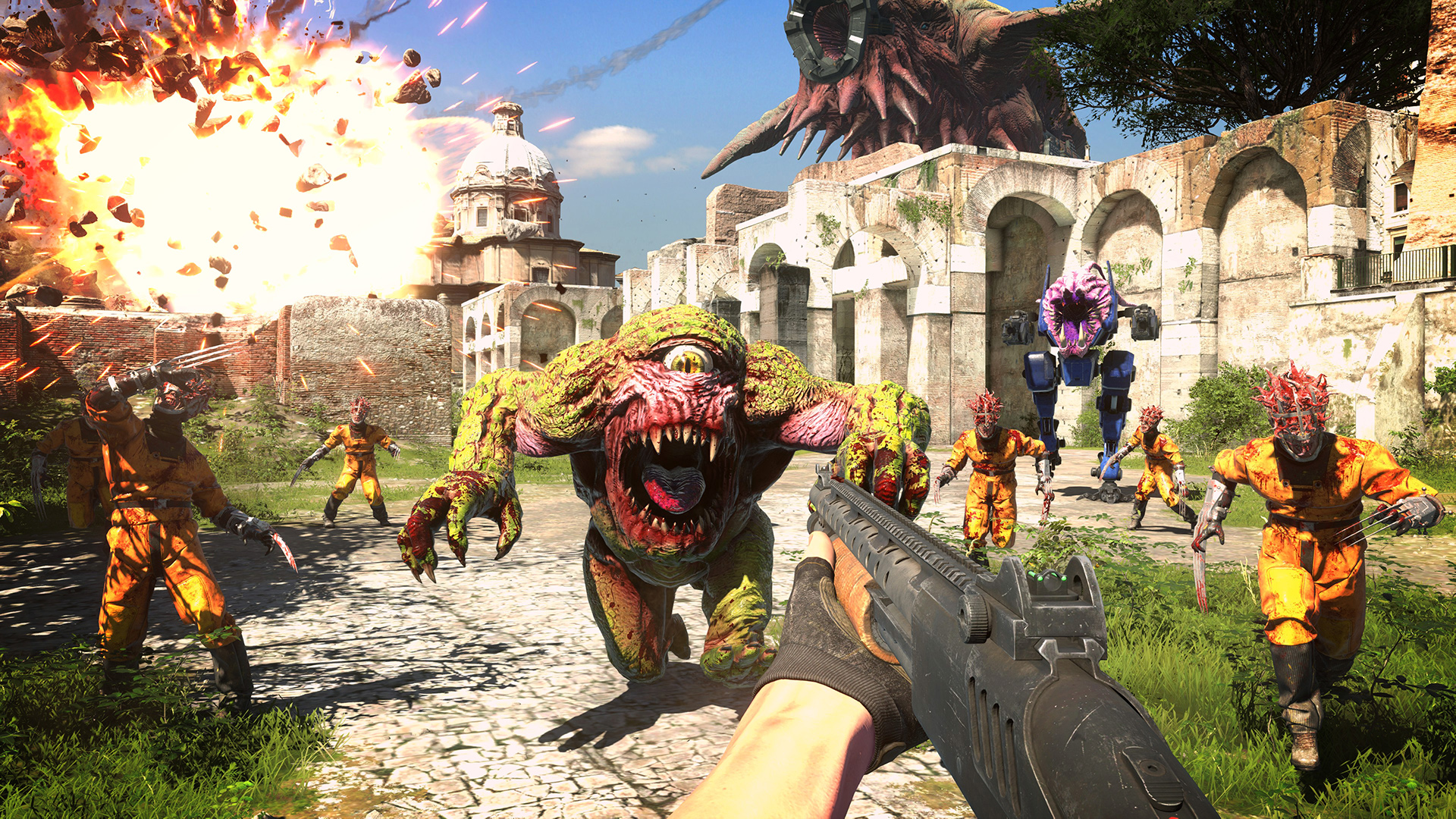Serious Sam 4 is now coming to Steam on September 24 screenshot