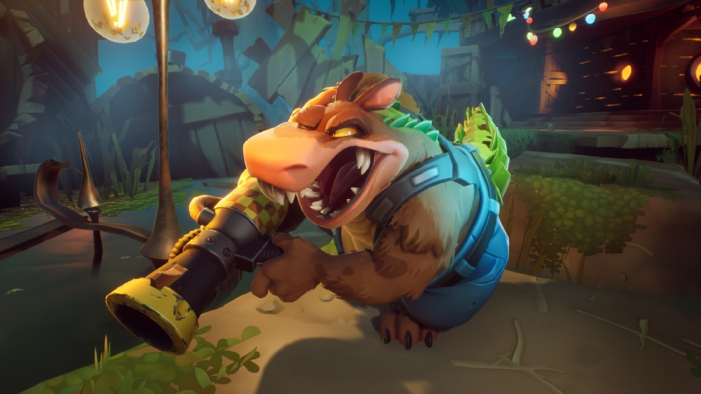 Dingodile returns as a playable character in Crash Bandicoot 4: It's About Time