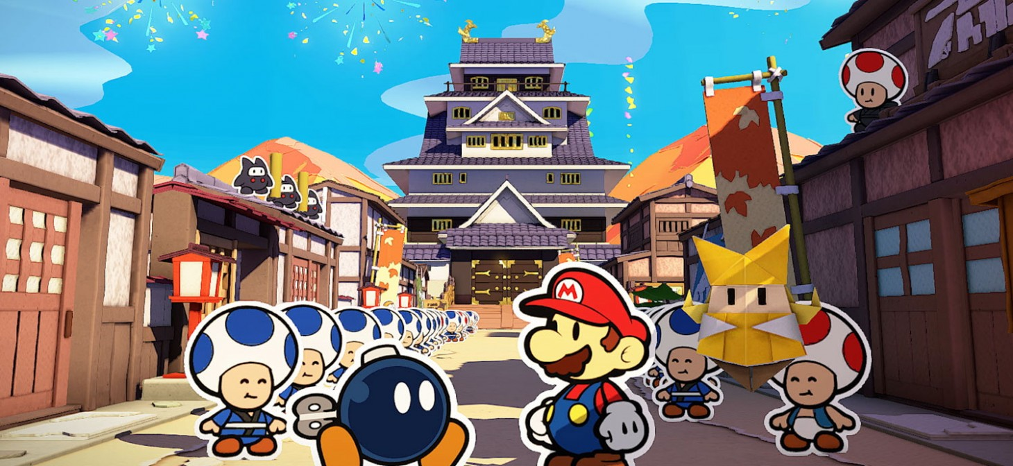 The newest Paper Mario: Origami King patch fixes multiple progress-related bugs