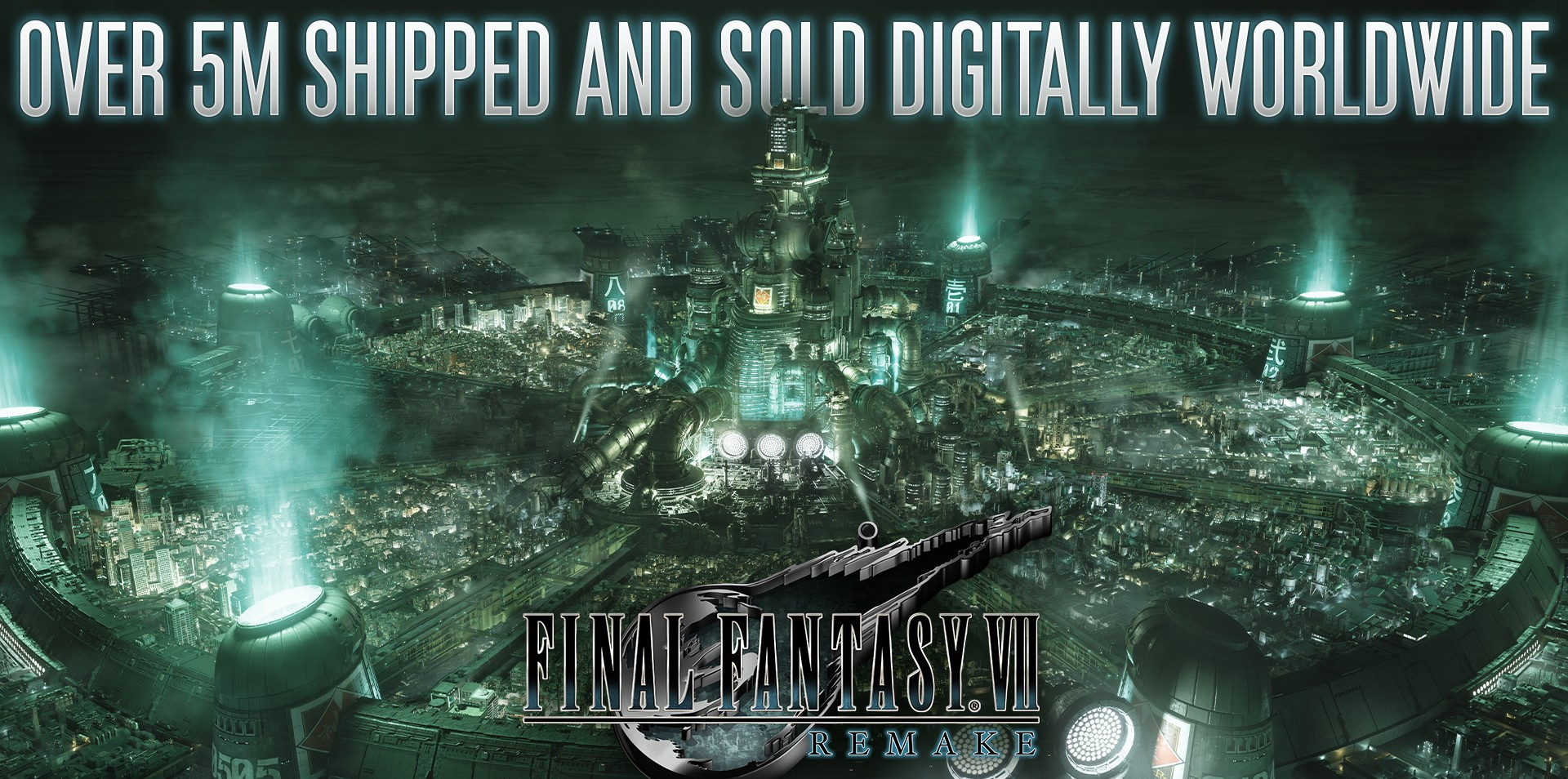 Final Fantasy VII Remake 'ships and digitally sells' over five million copies as of today screenshot