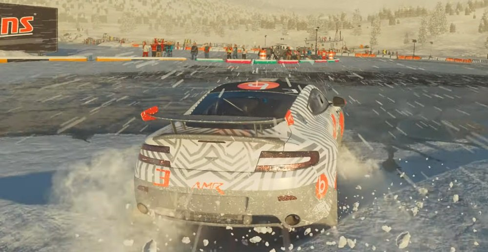 Bring your anti-freeze for Dirt 5's Ice Breaker events screenshot