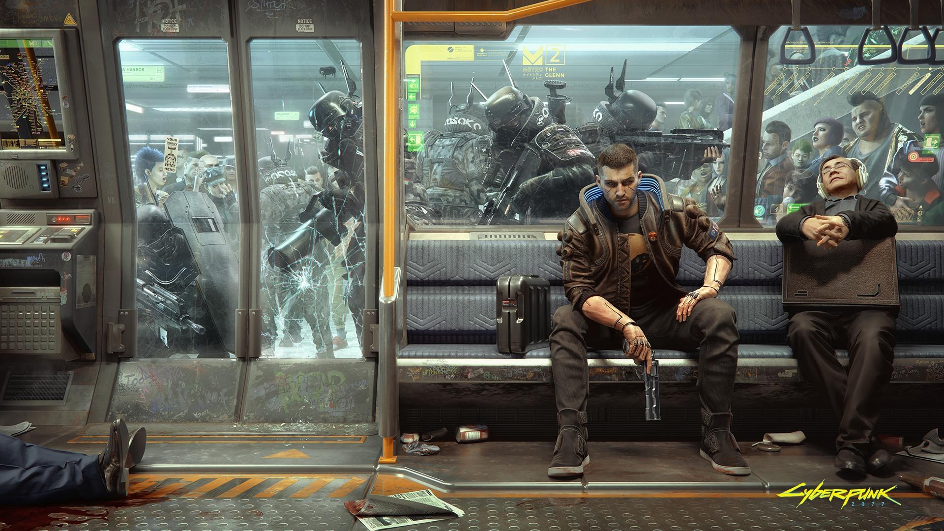 I'm hopeful Cyberpunk 2077 won't just be a good game, but a damn good role-playing experience screenshot