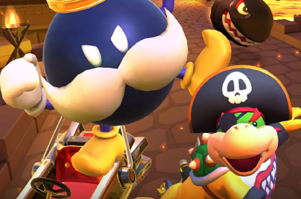 Mario Kart Tour's Pirate Tour sees the return of King Bob-omb screenshot