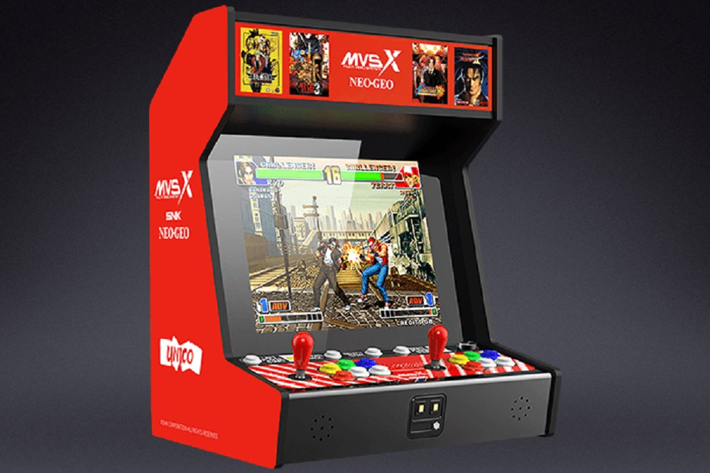 MVSX Home Arcade coming this fall, packed with 50 SNK classics