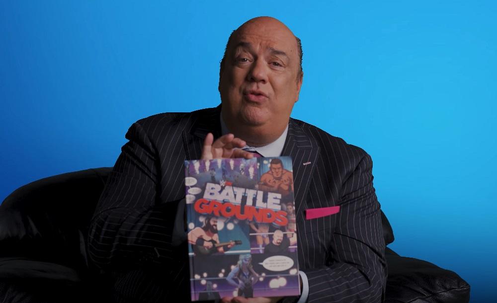 Ladies and Gentlemen, Paul Heyman introduces you to WWE 2K Battlegrounds screenshot