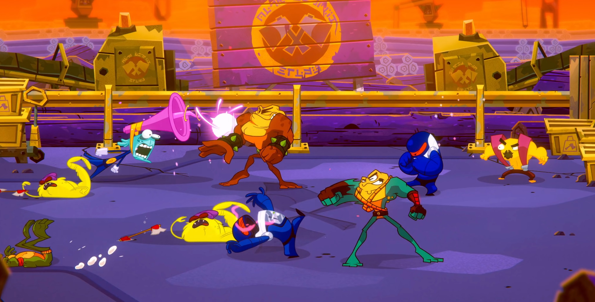 The Battletoads Are Back! An All-New Adventure Launches Worldwide Today