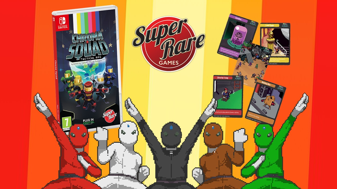 Contest: Win Chroma Squad on Switch from Super Rare Games screenshot