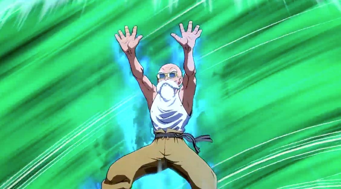 Frequent nose-bleeder Master Roshi joins Dragon Ball FighterZ next month screenshot