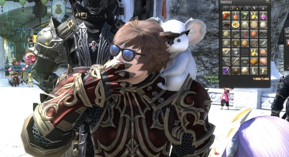 A Final Fantasy XIV player was randomly handed 999 eggs to eat, and it became a massive event screenshot
