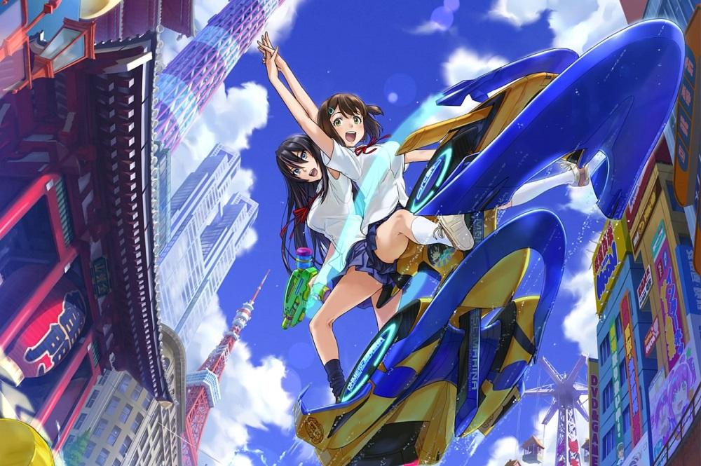 Review: Kandagawa Jet Girls screenshot