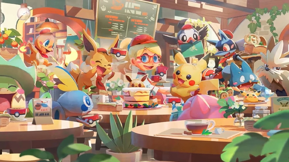 Pokemon Cafe Mix has served over five million customers screenshot