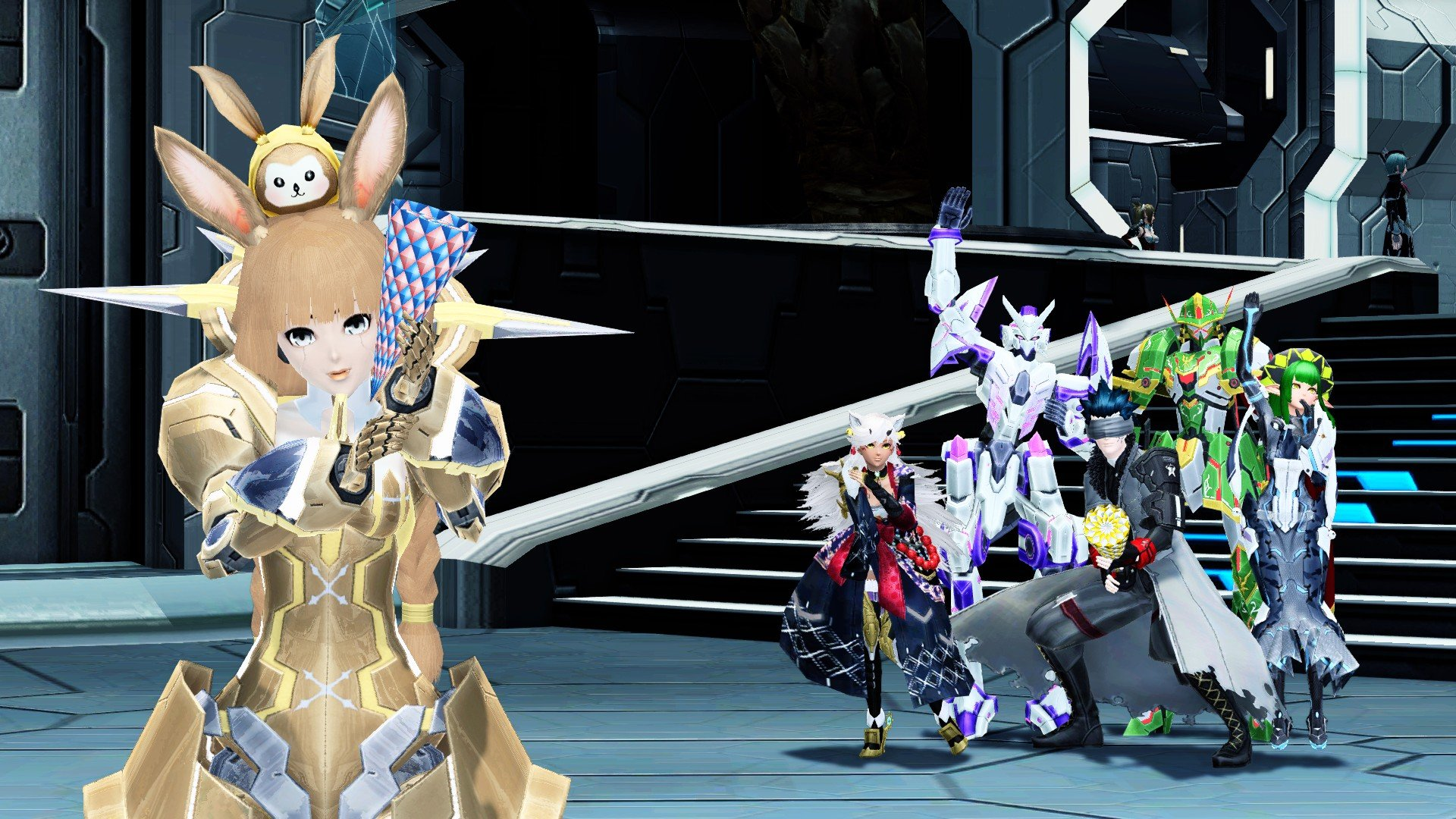 Sega announces that the western launch of Phantasy Star Online 2 has pushed the game past one million users screenshot