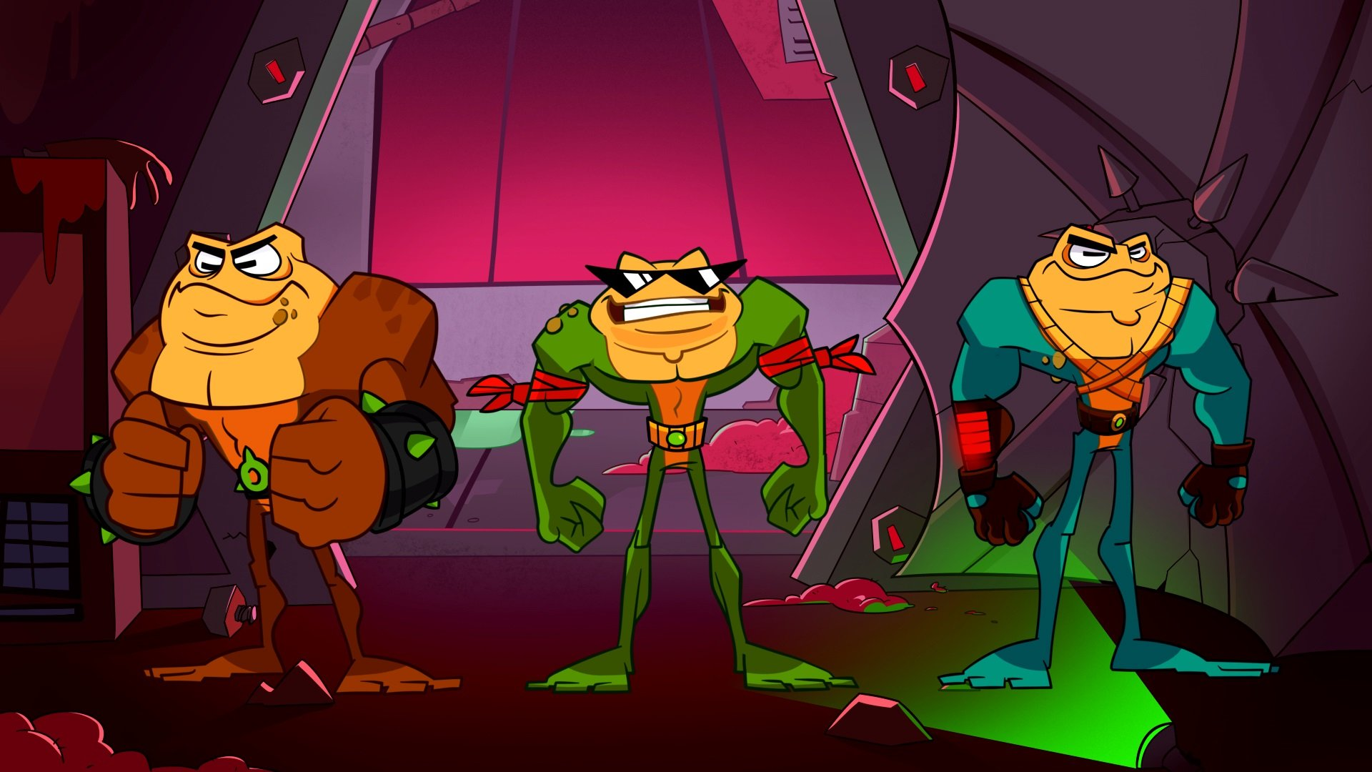 This video doesn't end with the Battletoads beating up Major Nelson screenshot