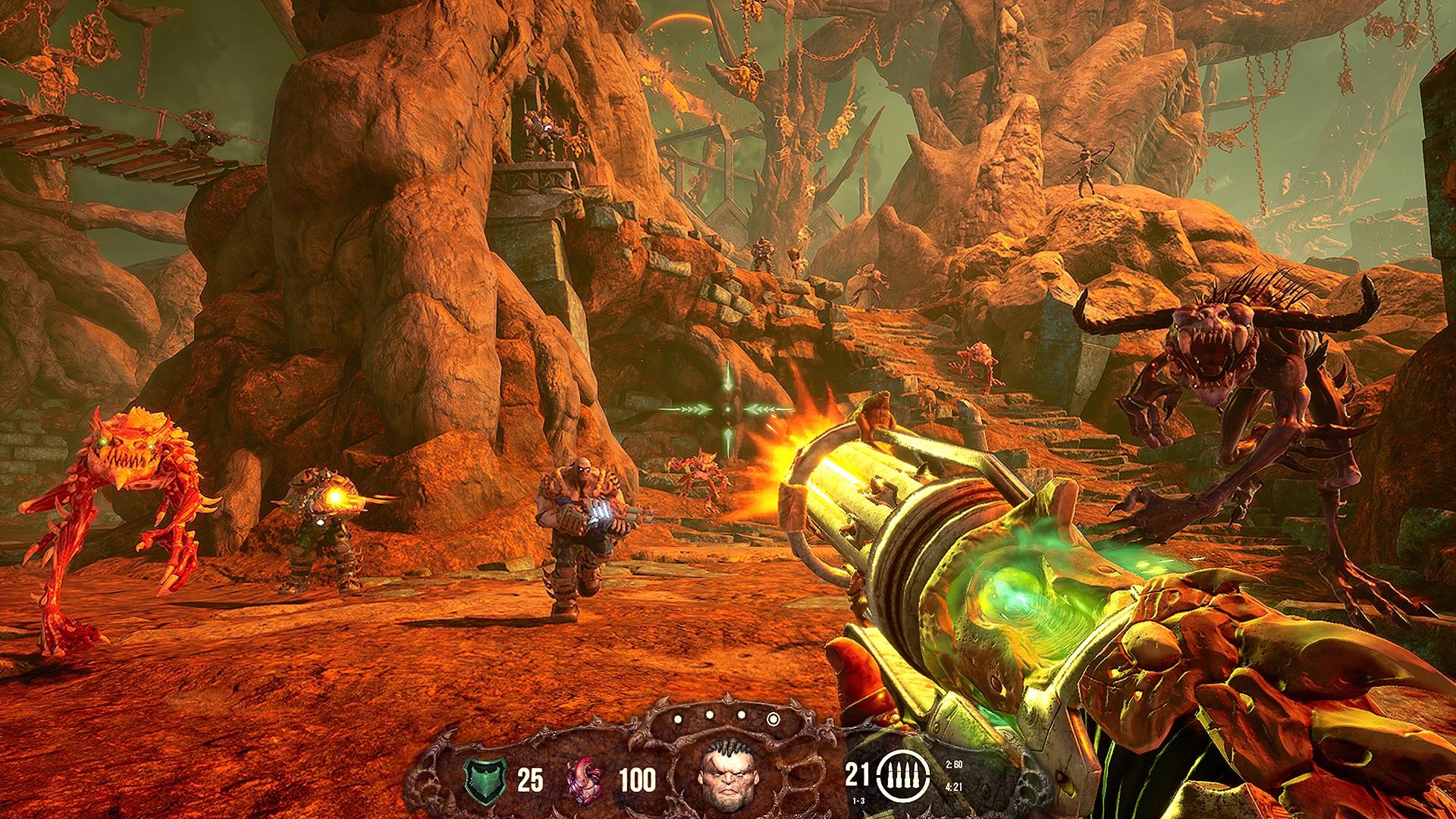 Contest: Win Hellbound, a sleek retro FPS on Steam screenshot