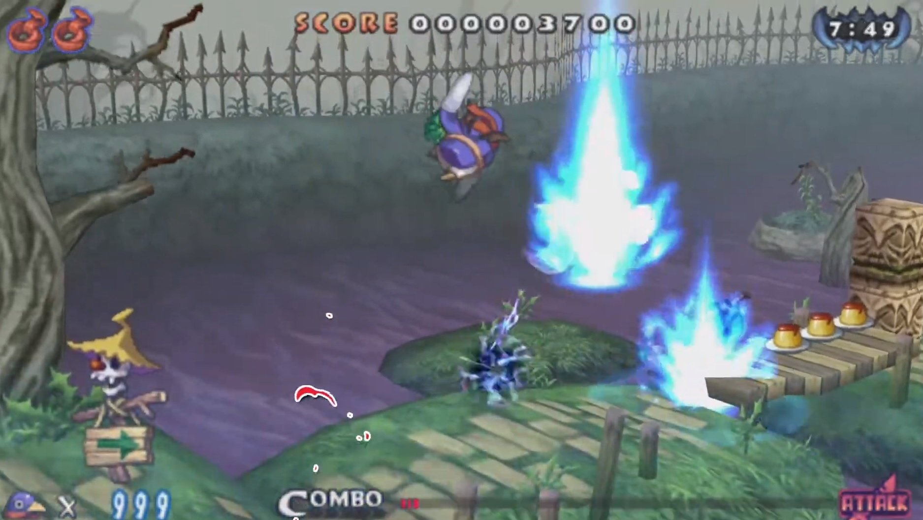 If you haven't played either Prinny game yet, here's a good idea of what the series is about screenshot